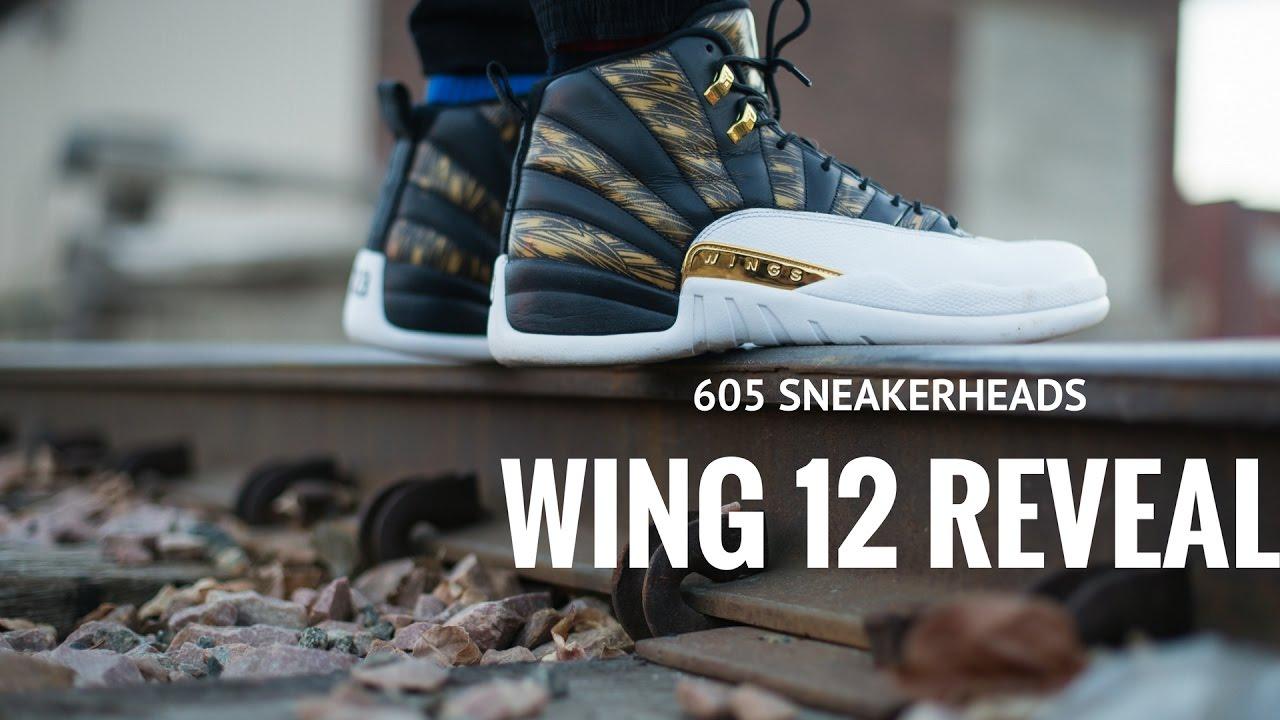 AIR JORDAN 12 WINGS REVEAL ! ! - YouTube 1fffbe94f8
