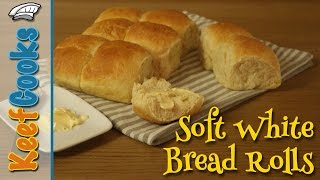 Homemade Bread Rolls - Soft Bread Rolls - Baps, Barm Cakes, Bread Cakes