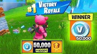 YOU CAN WIN 50,000 V-BUCKS!!! - Fortnite Solo-Showdown Is Back! (Fortnite Battle Royale)