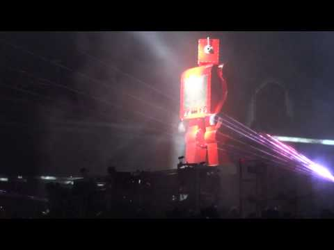 The Chemical Brothers - Robots  Vieilles charrues
