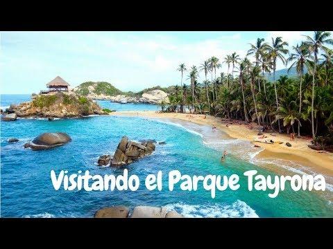 Visitando el parque Tayrona - Santa Marta Colombia