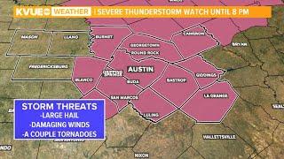 Radar: severe thunderstorm watch issued ...