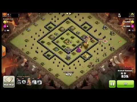 Level 2 Dragon vs Level 6 Air Defense (Maxed Th8) - Clash of Clan: For Business inquiries contact at: NoobClasher001@gmail.com  Clash of Clan war attack with Level 2 Dragon against a Maxed Town Hall 8 Base with Level 6 Air Defense.  Enjoy the Raid...  Intro Music:  https://www.youtube.com/watch?v=cQO7yJHBqBE&index=1&list=RDcQO7yJHBqBE