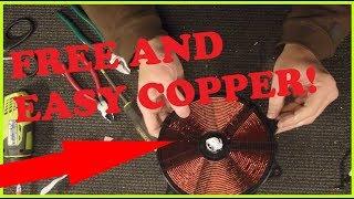 melting copper
