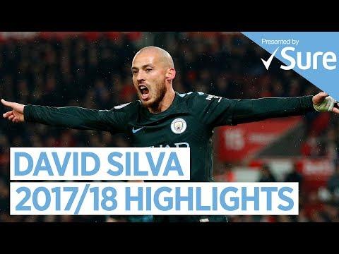 DAVID SILVA | GOALS, SKILLS & MORE... | Best of 2017/18 Mp3
