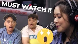 "Moira Dela Torre ""You Are My Sunshine"" (Meet Me in St. Gallen OST) LIVE on Wish 107.5 Bus REACTION"