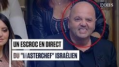 Un escroc français en fuite aperçu en direct sur le 'MasterChef' israélien