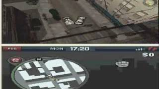 Grand Theft Auto: China Town Wars DS First Mission Gameplay (PC)