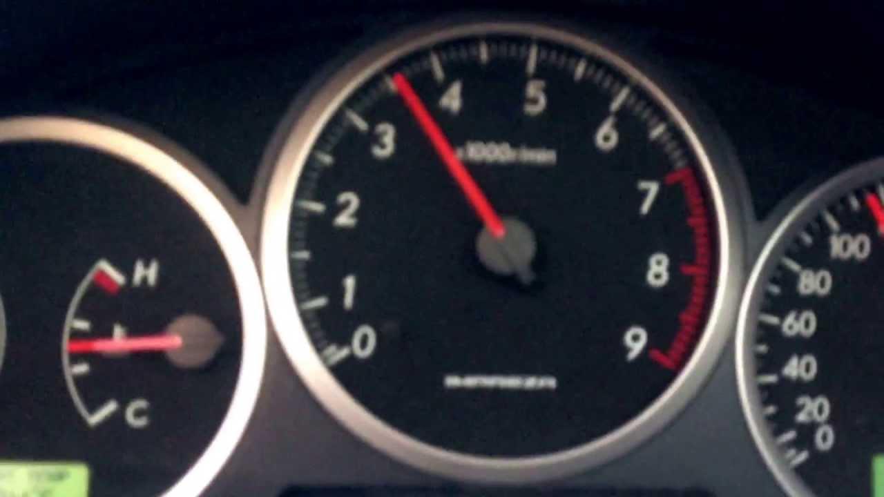 Проскальзываение сцепления Subaru Impreza WRX 04MY