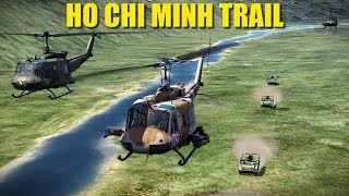 Reapers In Vietnam: Running The Gauntlet, The Ho Chi Minh Trail | Huey Ka-50 P-51 | DCS