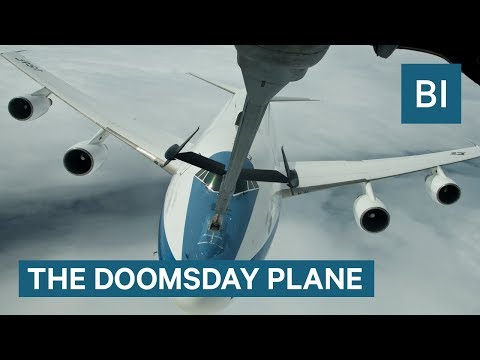 This US plane is designed to withstand nuclear war— take a l