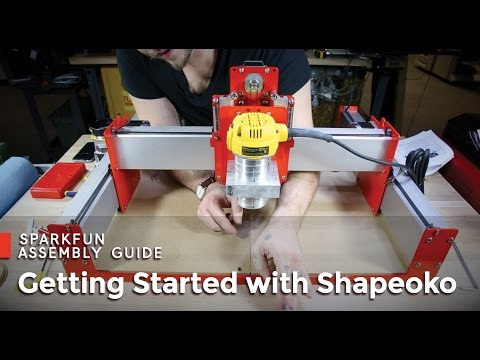 SparkFun Shapeoko Assembly Guide