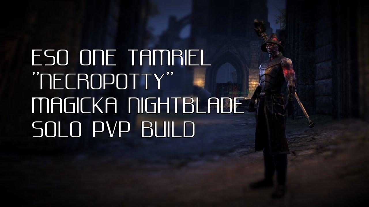 Eso Nightblade Pvp Build One Tamriel