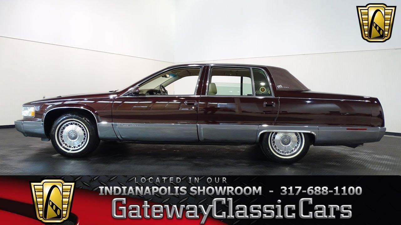 Cadillac Fleetwood For Sale >> 1996 Cadillac Fleetwood Brougham Indianapolis Showroom Stock 880