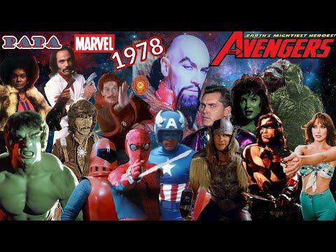 Original avengers movie 1978