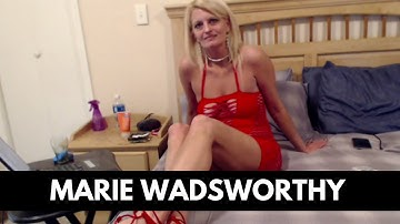 O Camgirl Interviews Mature Webcam Model Marie Wadsworthy