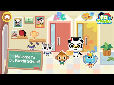 Dr. Panda School (by Dr. Panda Ltd) iOS / Android - HD Gameplay Trailer