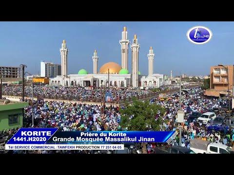 Korité 2020 La Prière à La Mosquée Massalikoul Djinâne Dakar