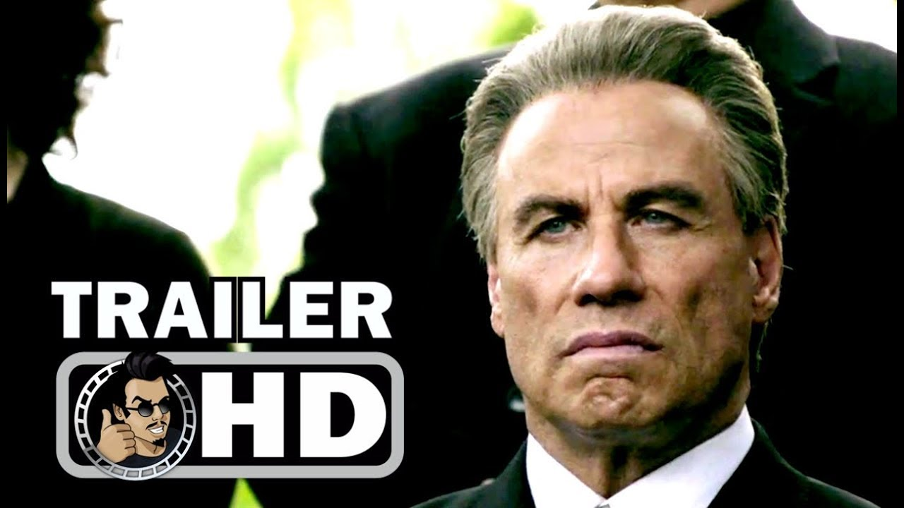GOTTI Official Trailer (2017) John Travolta Mafia Thriller ...
