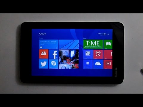 "Windows 8.1 - Toshiba Encore Mini 7"" Tablet"