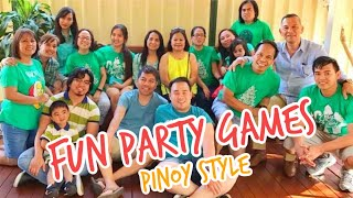 FUN CHRISTMAS PARTY GAMES | FUN AND EASY PARTY GAME IDEAS | Filipino Christmas Party