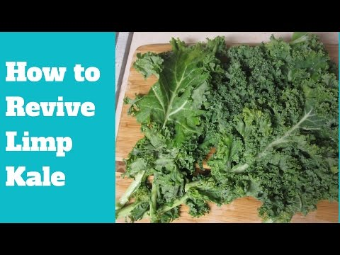 How to Revive Limp Kale