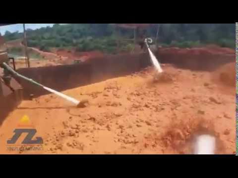 Big capacity gold wash plant
