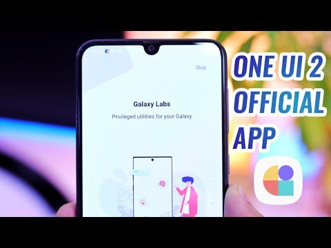 One UI 2 Official App For Galaxy A50, A70, A50s & Any Samsung Devices