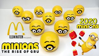 Minions 2 - The Rise Of Gru 2020 Mcdonalds Happy Meal Toys