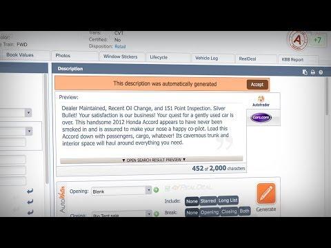 Provision Software Tour | Merchandising