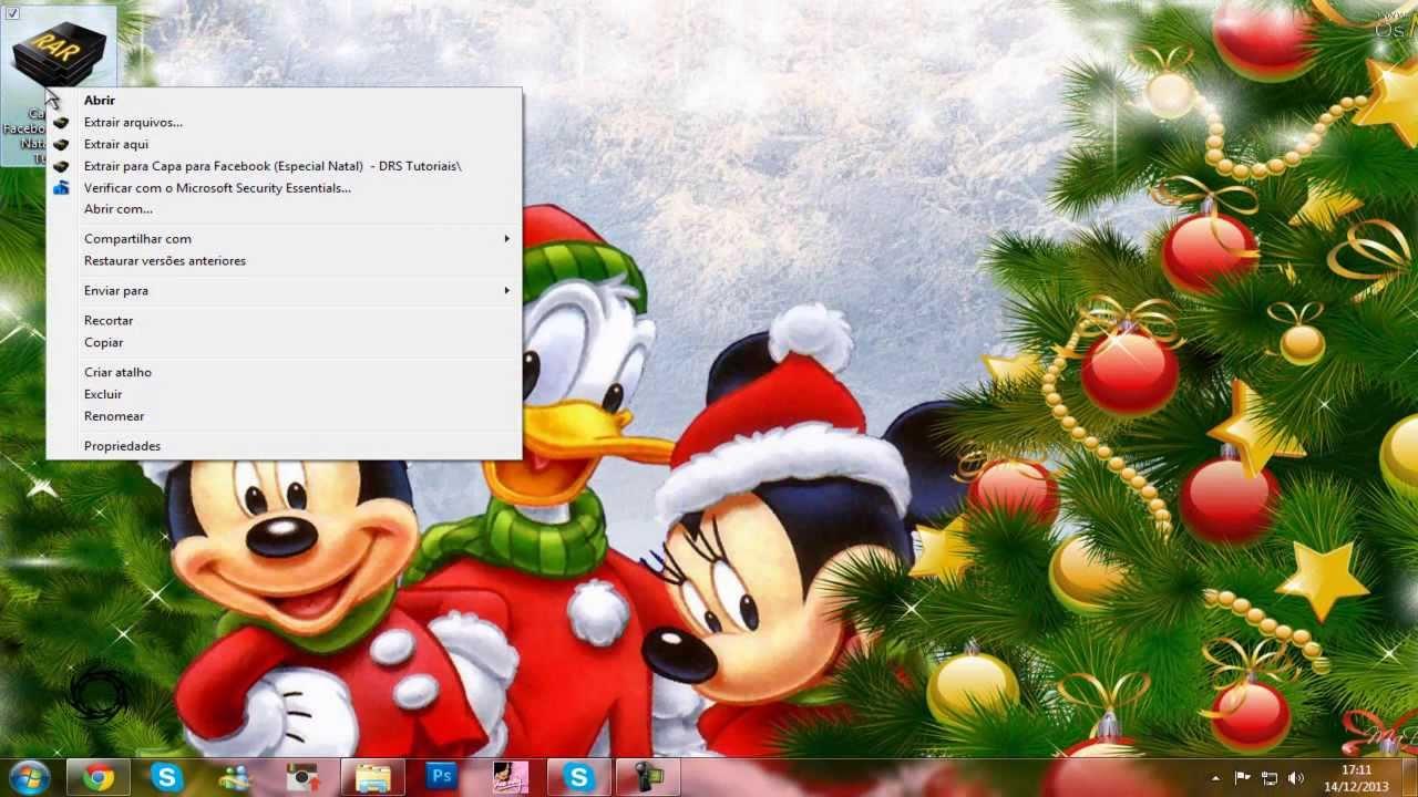 Capas Para Facebook De Natal Drs Tutoriais