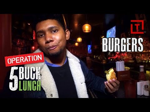 The Best Cheap Burger in NYC