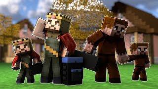 ZENGİN, FAKİR VE ÇOCUKLAR ŞEHRİ TERK EDİYORLAR! 😱 - Minecraft