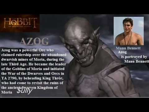 THE HOBBIT 'manu bennett'  The Making Of Azog