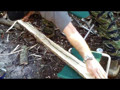 November Gathering Primitive Bow Making
