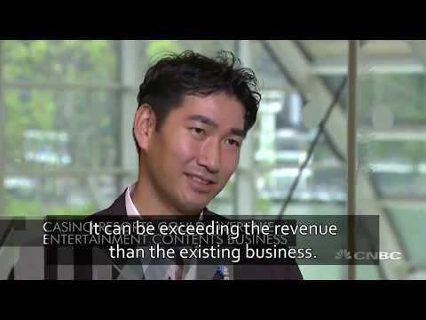 CNBC Interview of Haruki Satomi [Subtitled] [Part 1]