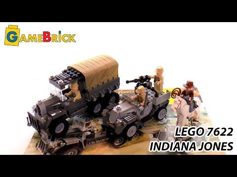 ЛЕГО ИНДИАНА ДЖОНС 7622 обзор INDIANA JONES LEGO [музей GameBrick]