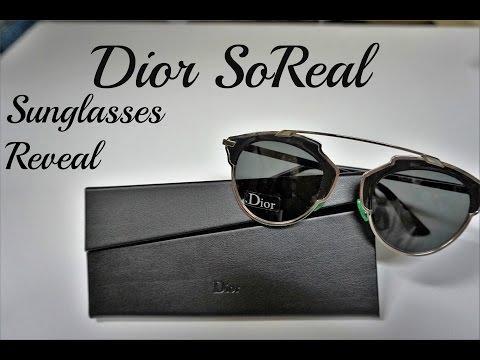 Dior So Real Sunglasses Reveal
