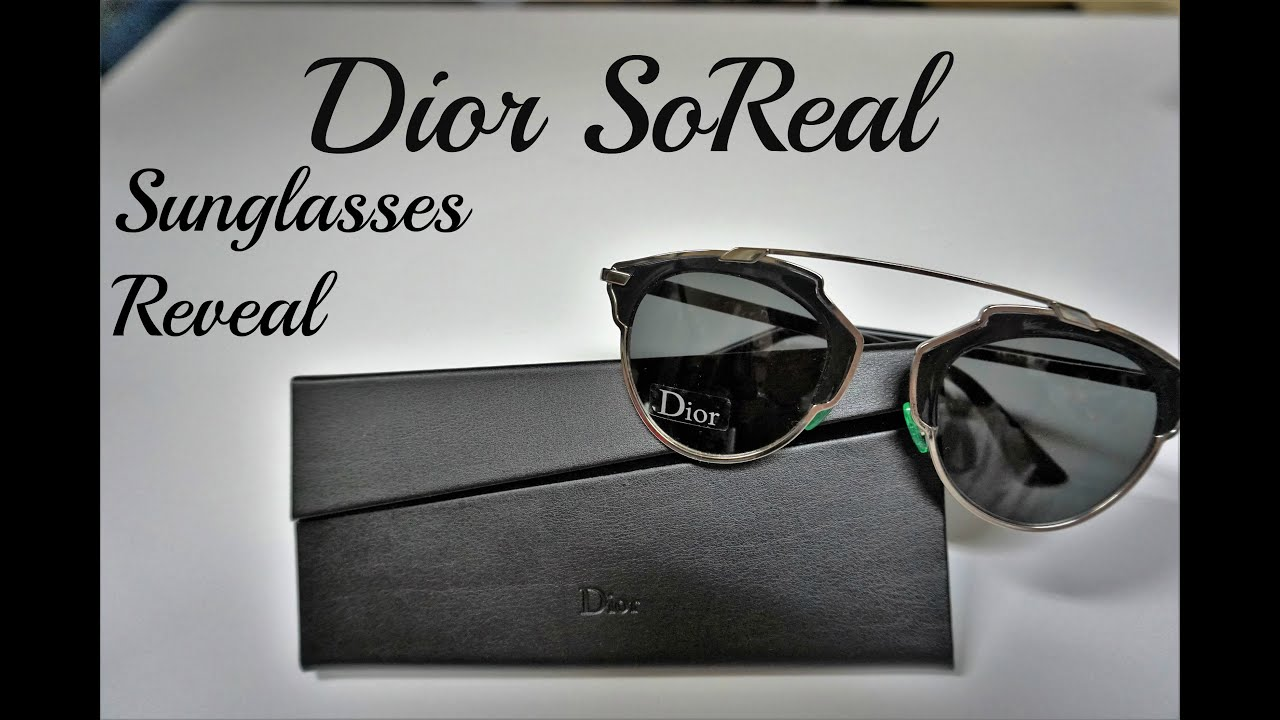 a4323903bbe Dior So Real Sunglasses Reveal - YouTube
