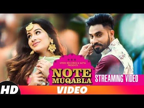Note Muqabla | Streaming Video | Goldy Desi Crew ft Gurlej Akhtar | Sara Gurpal | Latest Songs 2018