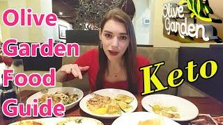 KETO: Olive Garden Guide! (I've Got a Complicated Order)
