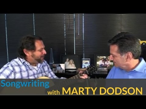 Country Songwriting Techniques with Marty Dodson