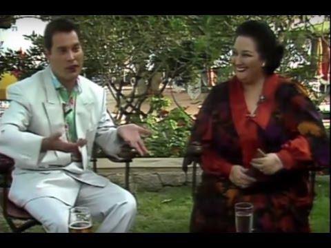 Entrevista Freddie Mercury Montserrat Caballe Fiesta Presentacion