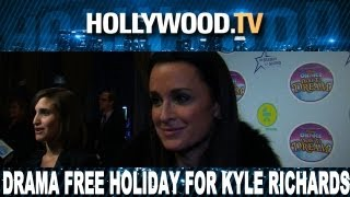 Kyle Richards wants no drama for the Holidays! - Hollywood.TV
