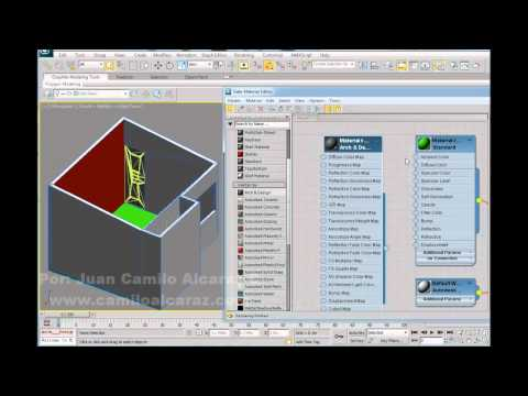 3ds max 2011 Slate Material Editor