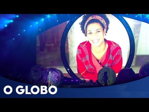 Katy Perry faz homenagem à vereadora Marielle Franco em show no Rio de Janeiro