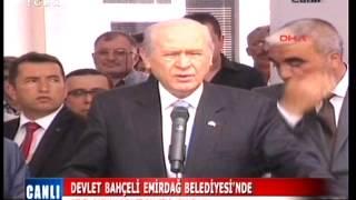 Genel Başkanımız Sayın Devlet Bahçeli Afyonkarahisar/Emirdağ'da Halka Hitap Etti