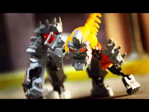 LEGO® Hero Factory - Brain Attack : Frost Beast - YouTube