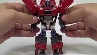 Transformers Alternity Convoy A-01 VIbrant Red (Reshoot)