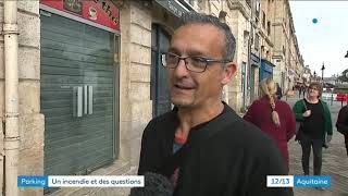 Incendie du parking des Salinières à Bordeaux : le point sur la situation